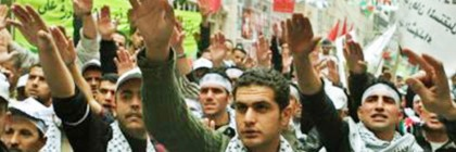 """Fatah gives Nazi salutes and claims Hitler """"didn't finish the job"""""""