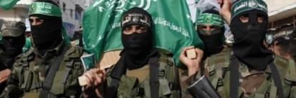 Hamas terrorists inside Israel