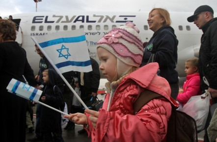 Fleeing their country's civil war, Ukrainian Jews head for Israel