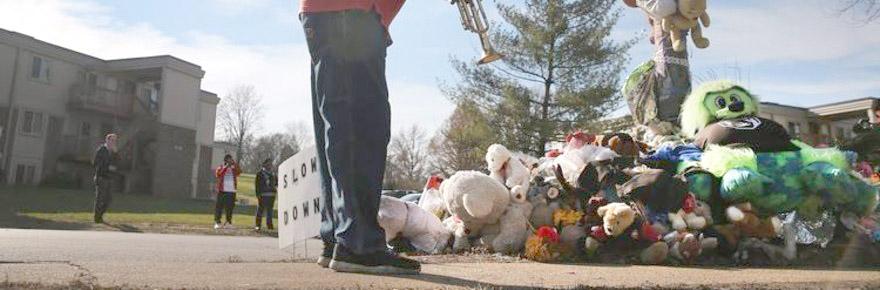 Michael Brown ferguson-spokesman-memorial