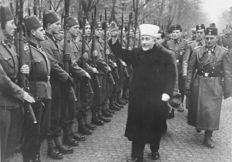 Image result for arabs giving nazi salute