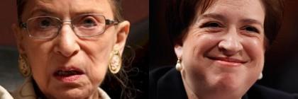 Ruth Bader Ginsburg Elena Kagan Supreme Court Liberals