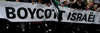 Pro-Palestinian demonstration to boycott Israel