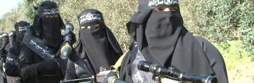 Muslim Arab Terrorists in Gaza