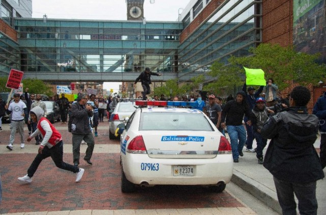 Baltimore Black Rioters