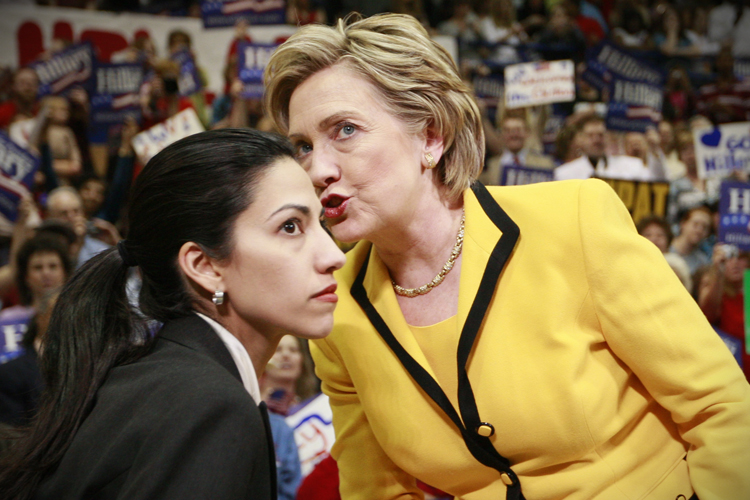 Hillary Rodham Clinton, Huma Abedin