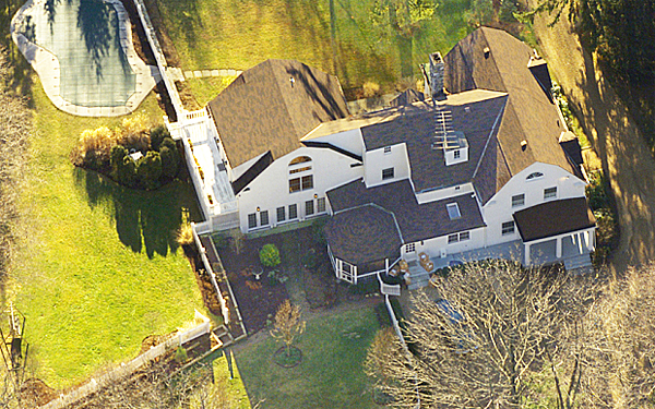 The Clintons' $1.7 million home in Chappaqua, N.Y., where Hillary attempted to send White House furniture and other items as her husband left office in 2001