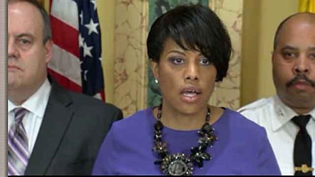 Mayor of Baltimore Stephanie Rawllngs-Blake