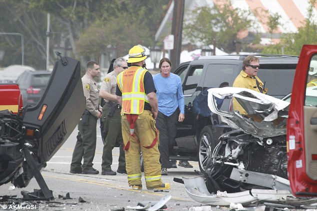 "Bruce ""Caitlyn"" Jenner Crash"