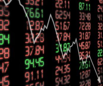 stock market dow crash