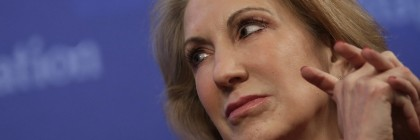 """WASHINGTON, DC - DECEMBER 18:  Carly Fiorina, former CEO of the Hewlett-Packard Company, speaks at the Heritage Foundation December 18, 2014 in Washington, DC. Fiorina joined a panel discussion on the topic of """"And Now for a Congressional Growth Agenda"""".  (Photo by Win McNamee/Getty Images)"""