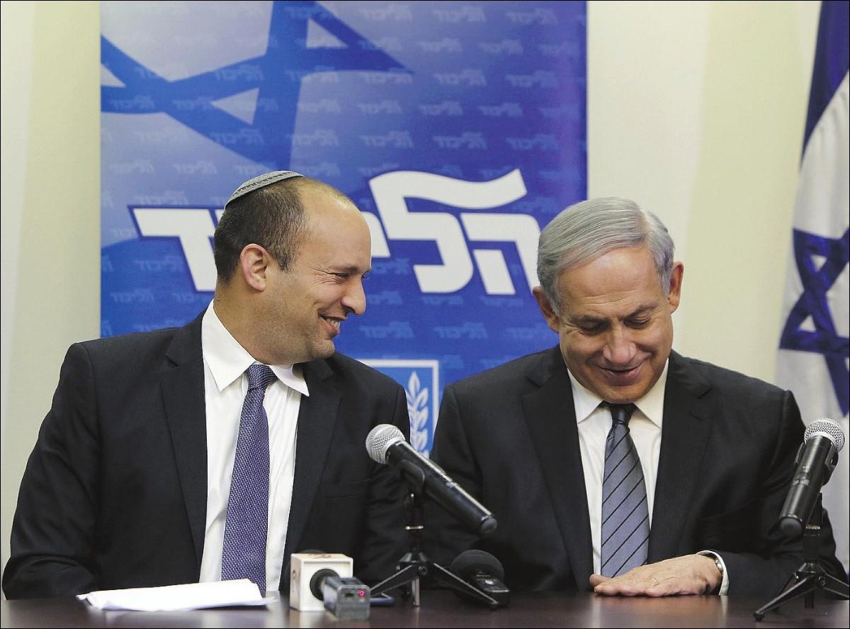 Naftali Bennett Bibi Netanyahu