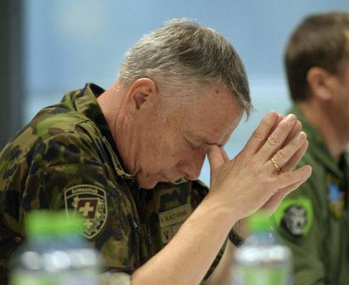 Swiss army chief André Blattmann