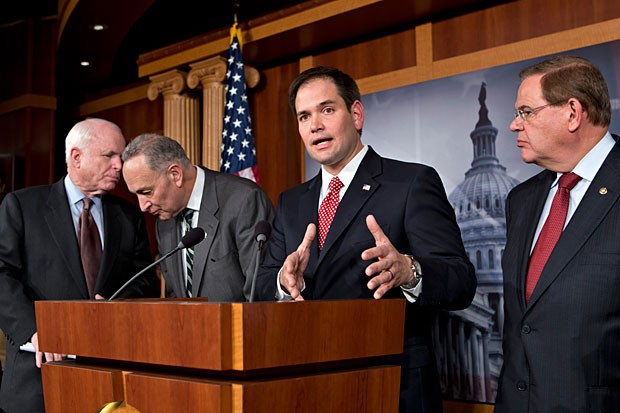 Gang of Eight Immigration Rubio