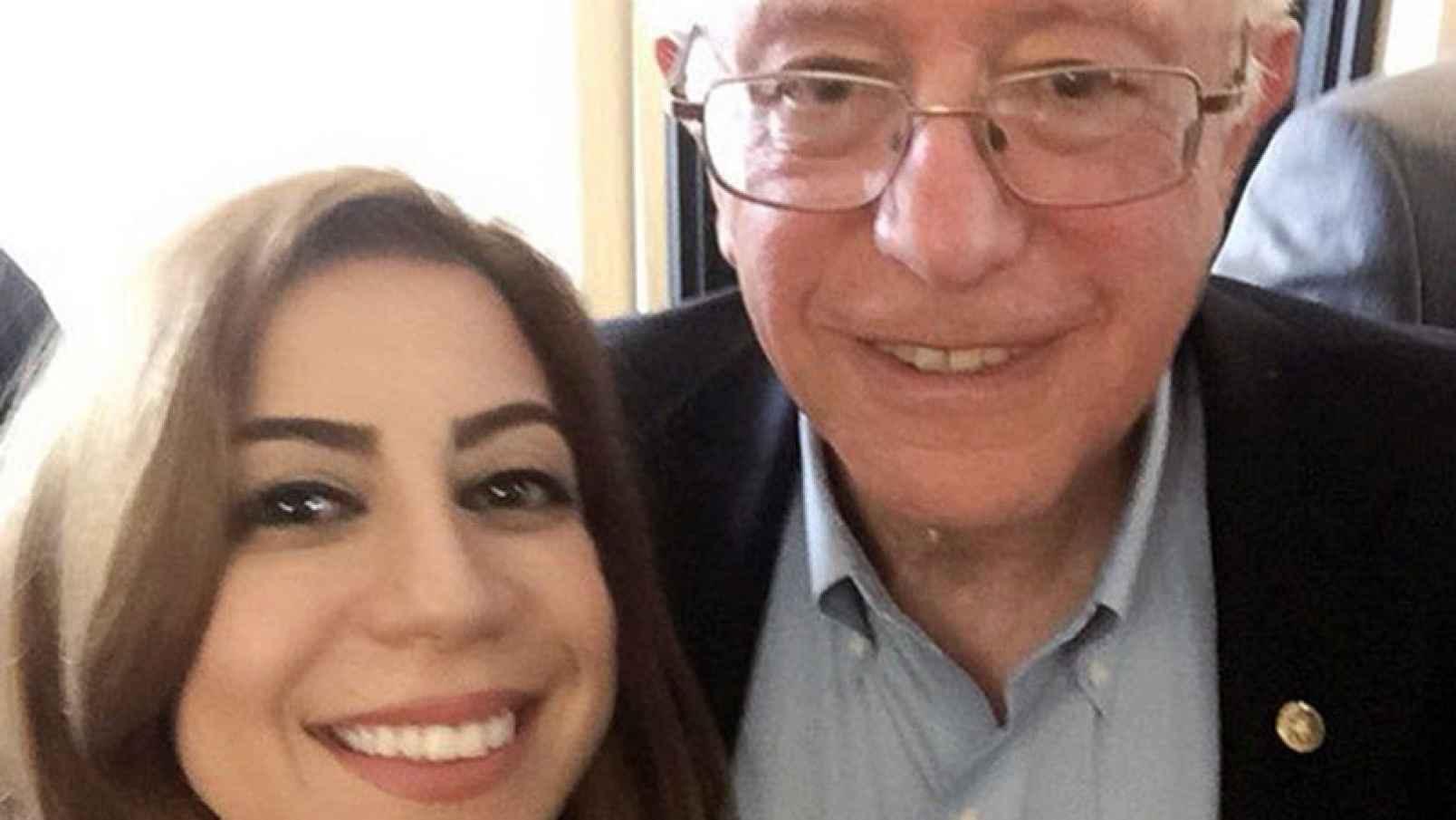 Bernie Sanders CAIR's Rasha Mubarak