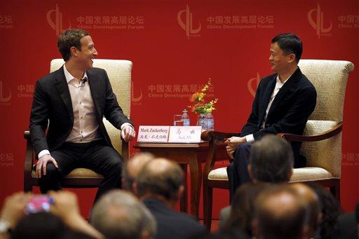 Mark Zuckerberg, Jack Ma