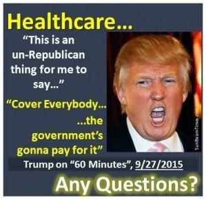 Trump's Health Care Plan Just Got Scarier | JTF