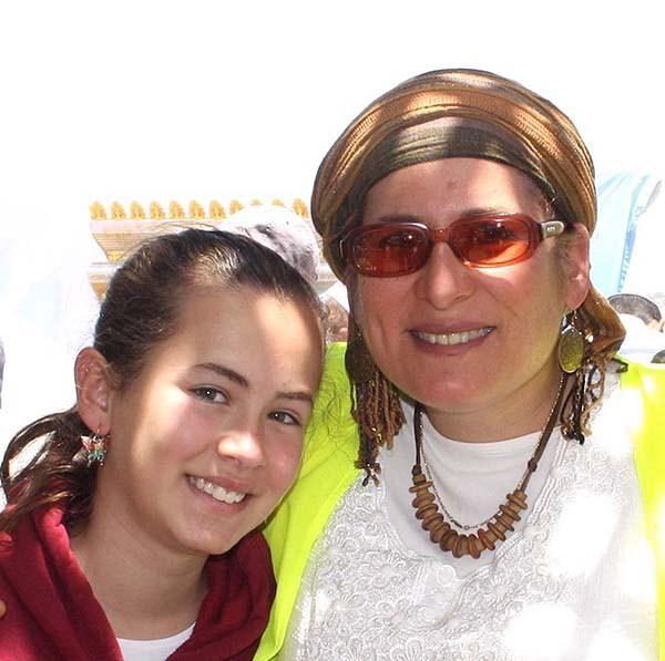 Hallel Ariel and Rina Ariel