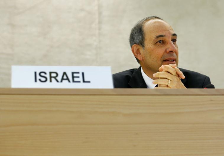 Israel's Ambassador to the UN