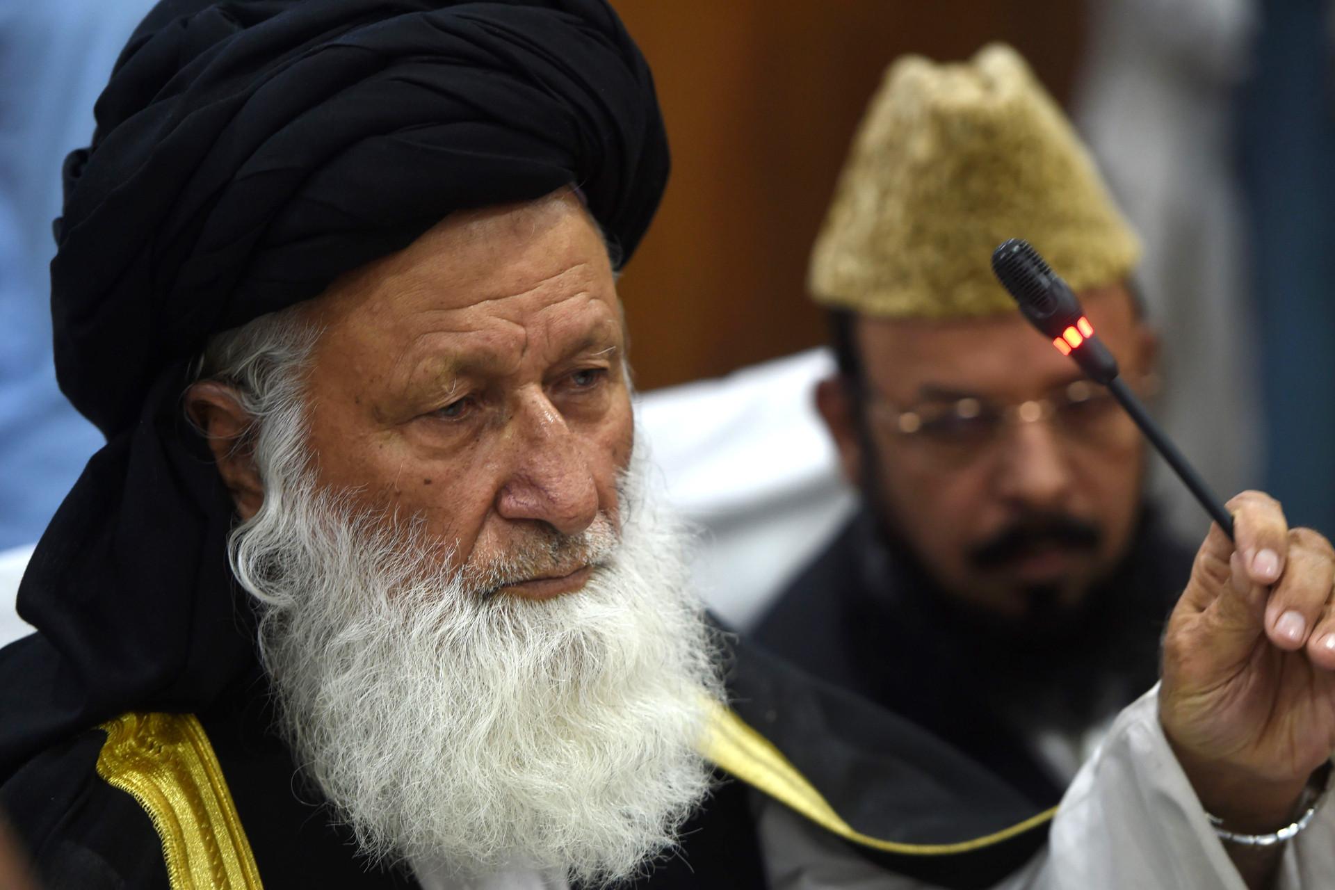 Muslim Cleric Muhammad Khan Sherani