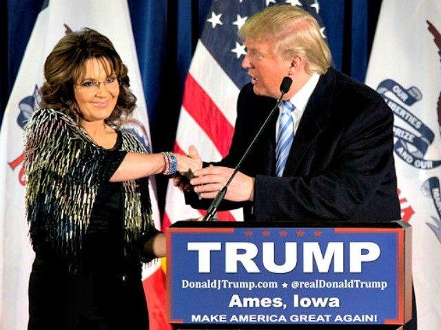 Trump and Palin