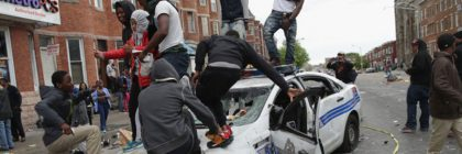 Looting in Baltimore