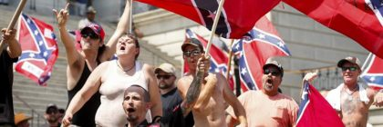 KKK Racist Trump Supporters