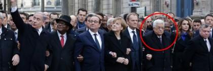 abbas netanyahu paris rally