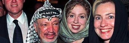 Hillary Bill Clintons Arafat