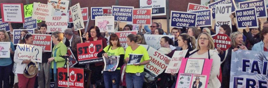 Common-core-protest