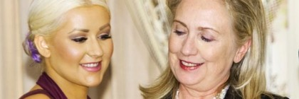 hillary-gets-an-eyeful-of-christina-aguileras-breasts