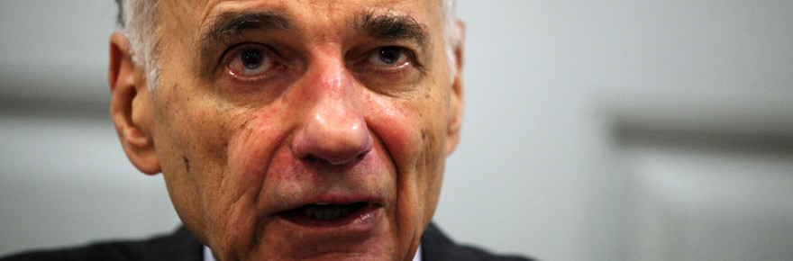 """WASHINGTON, DC - JULY 02:  Former presidential candidate Ralph Nader speaks during a news conference July 2, 2012 at Public Citizen in Washington, DC. Nader held a news conference to announce an """"upcoming limited general strike to protest the colonial status of the District of Columbia and to support D.C. statehood.""""  (Photo by Alex Wong/Getty Images)"""