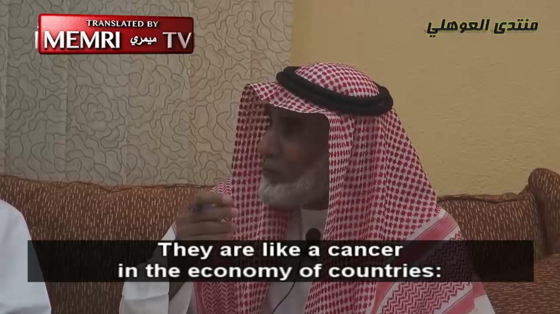 saudi-scholar-abdallah-al-yahya-the-jews-are-like-a-cancer