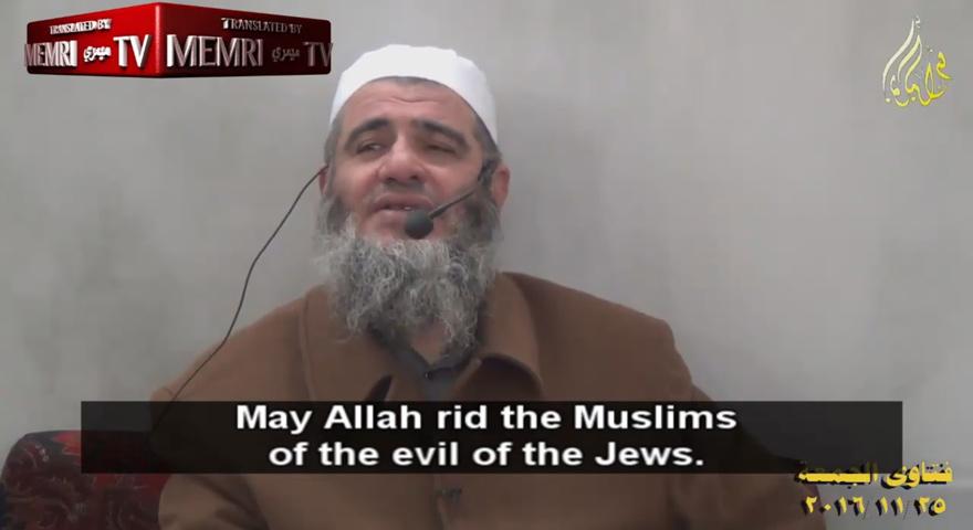 jordanian-palestinian-cleric-mashhoor-bin-hassan-happy-over-israel-fires