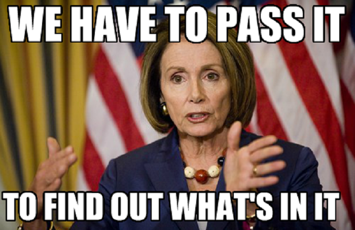 nancy pelosi we have to pass it